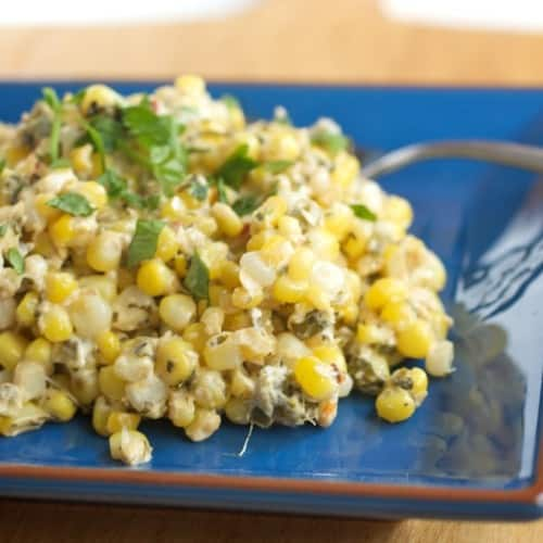 cilantro lime corn