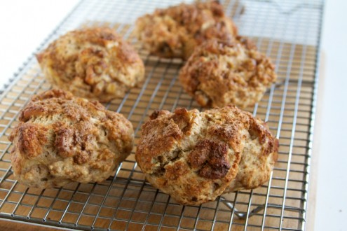 Banana Walnut Scones | Naturally Ella