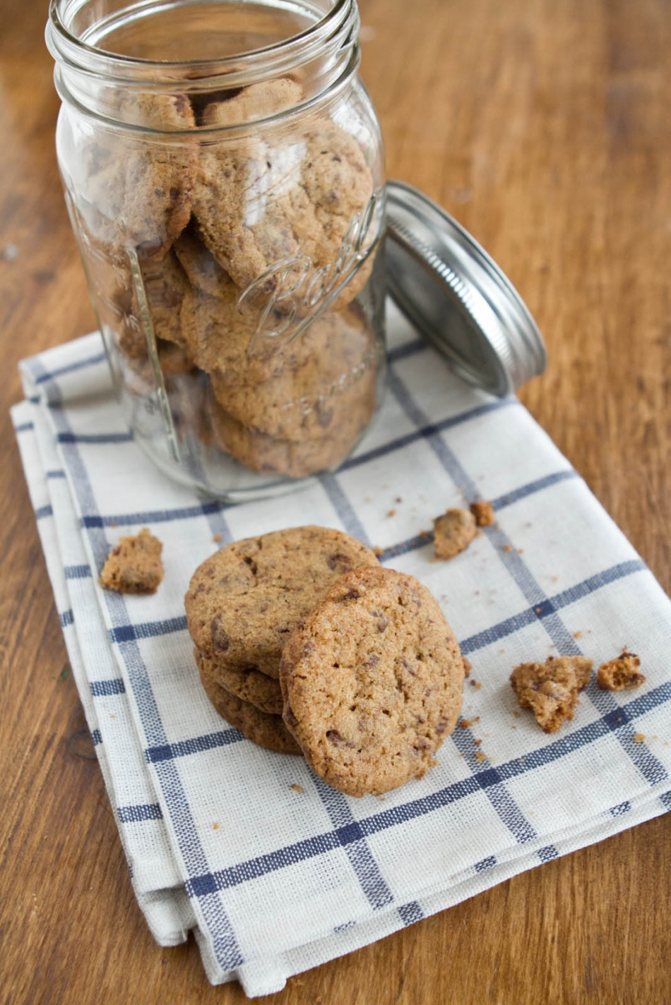 Brown Butter {Whole Wheat} Chocolate Chip Cookies | Naturally Ella