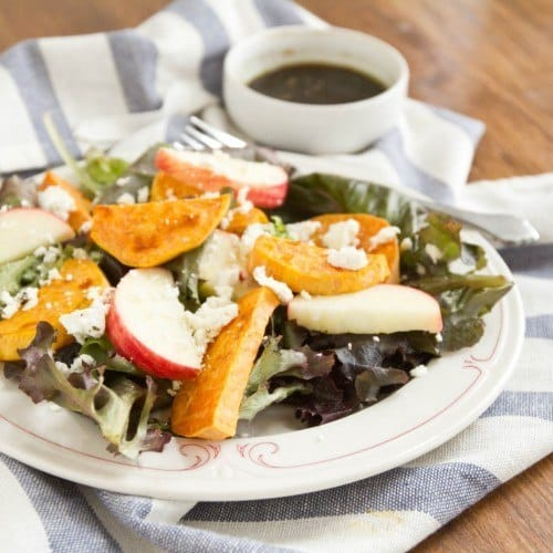 Sp and apple salad