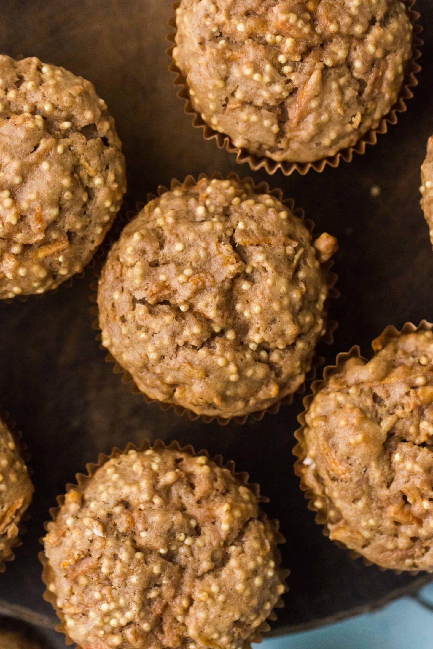 Spiced Carrot Muffins with Millet