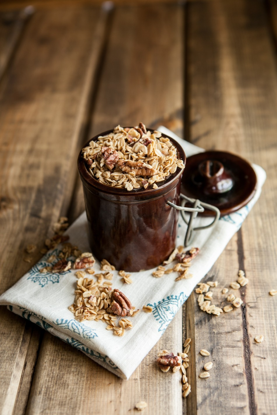 Ingredient Maple Pecan Granola | Naturally Ella