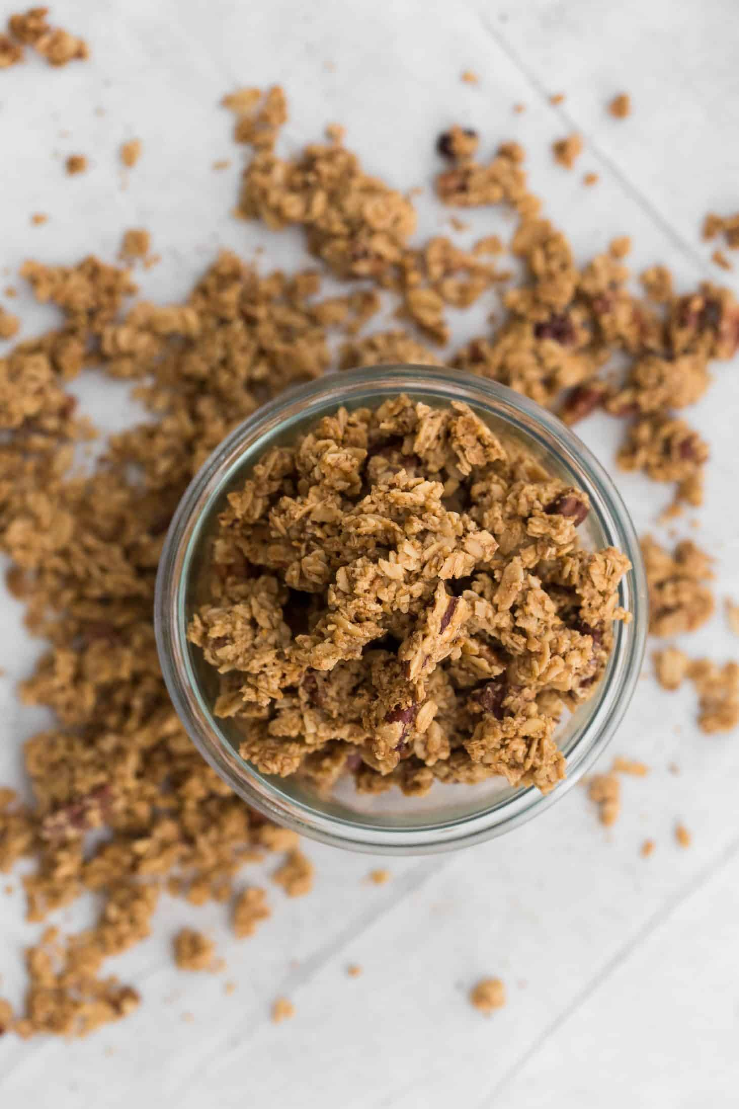 5 Ingredient Homemade Granola