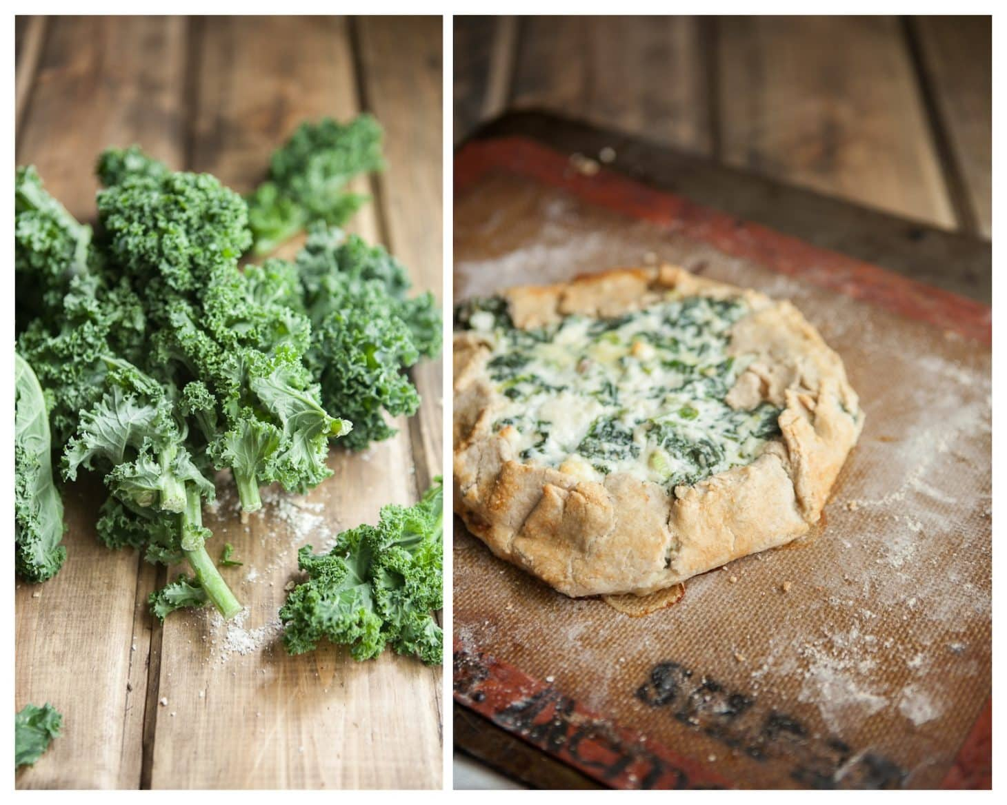 Kale and Feta Galette: Spring Recipe for Kale
