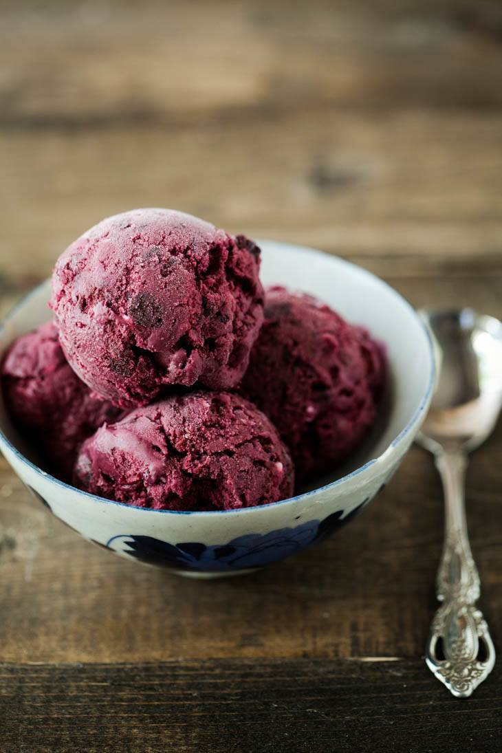 Black Raspberry Ice Cream: Summer