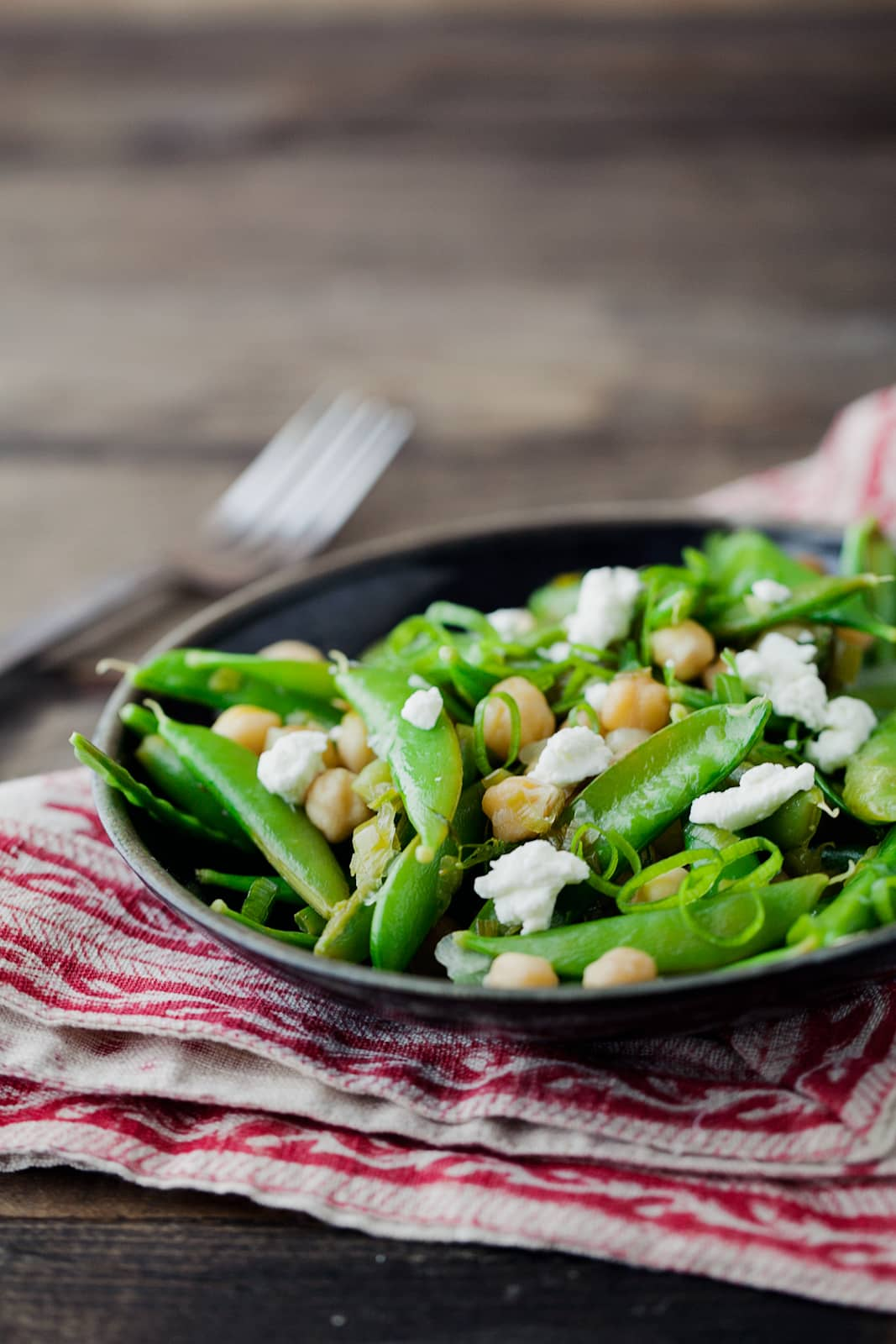 sugar snap peas linguine with bacon goat cheese and sugar snap peas ...