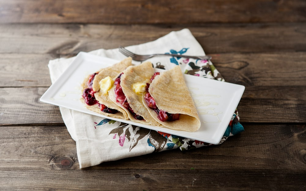 ... plum crepes with ricotta and honey honey lavender mille crepes cake