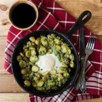 Pesto Potato Skillet