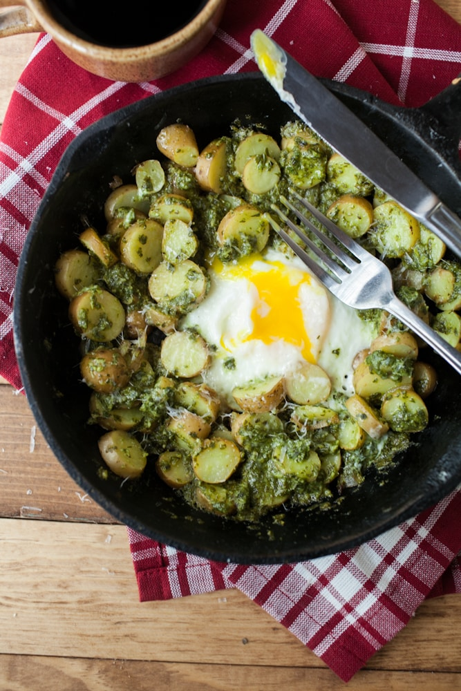 Pesto Potato Skillet Recipes — Dishmaps