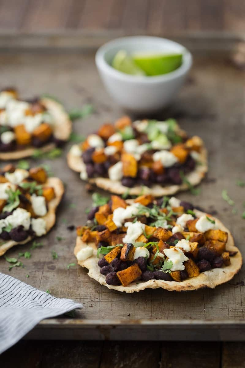 Black Bean Tostadas with Chipotle Butternut Squash | http ...