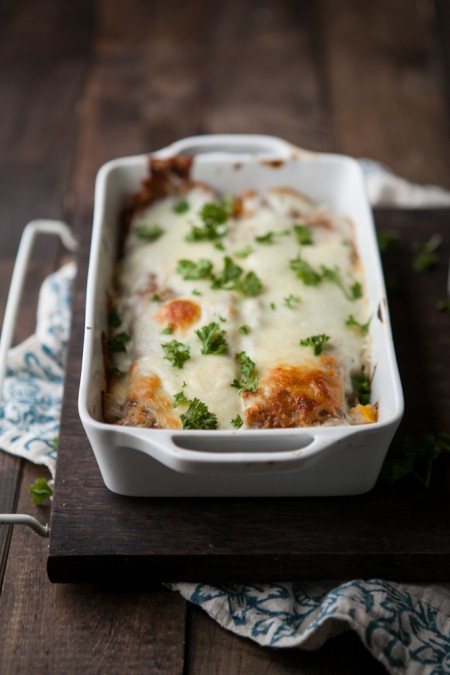 what cheese goes in lasagna