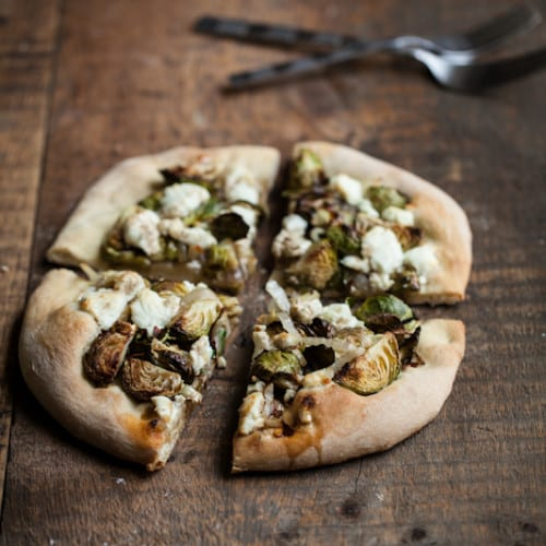 ... brussels sprouts and goat cheese pizza roasted brussels sprouts