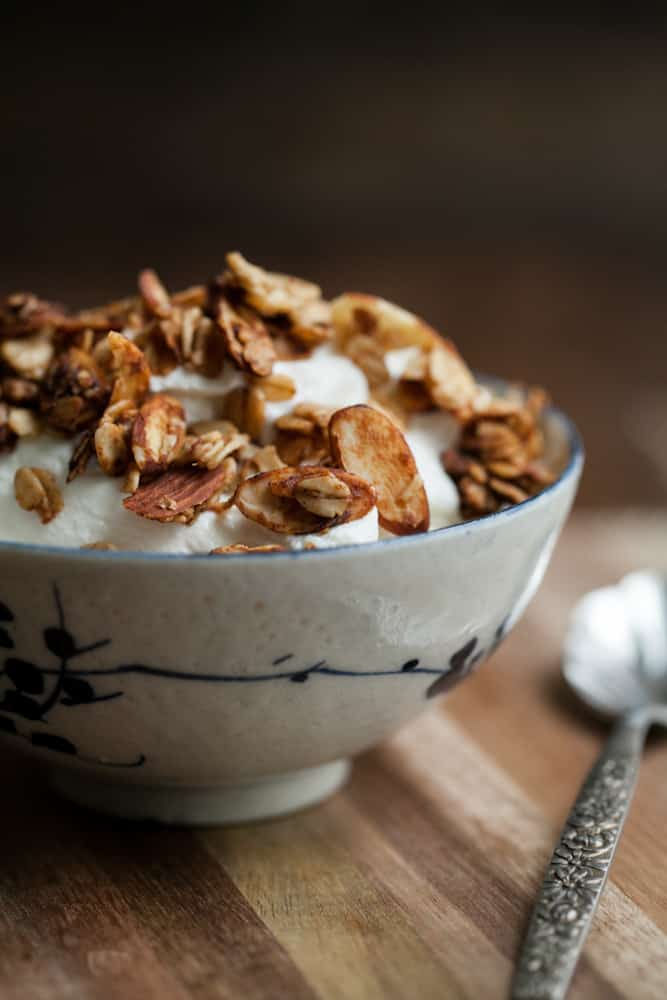 Easy Date-Sweetened Granola with Almonds | Naturally Ella