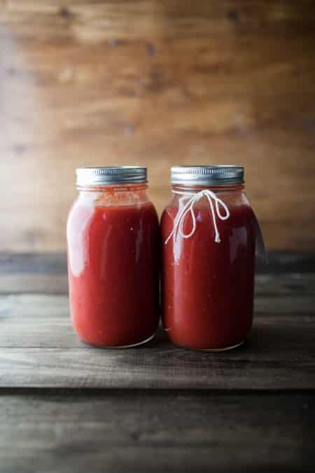 Canning: Tomato Sauce