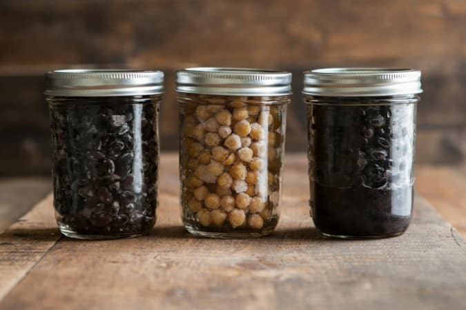Freezing: Black Beans and Chickpeas