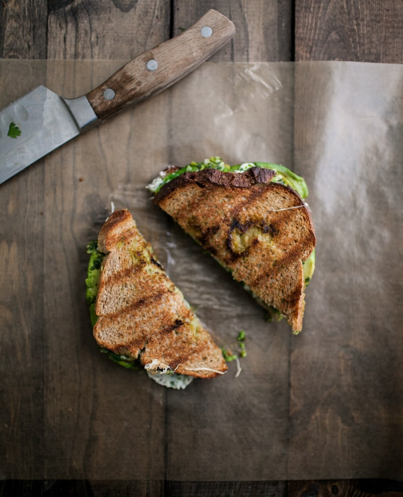 Avocado, Mozzarella, and Jalapeño Chimichurri Grilled Cheese