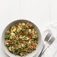 Caramelized Cauliflower Salad