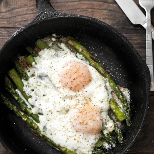 Asparagus and Eggs | @naturallyella