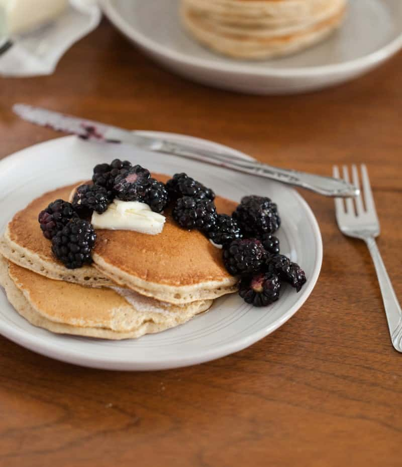 Three-Grain Pancakes