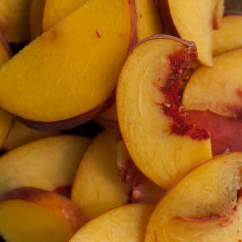 Vegetarian Peach Recipes | Naturally Ella