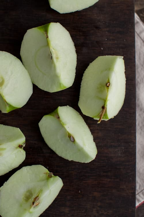 how to cook apples without sugar