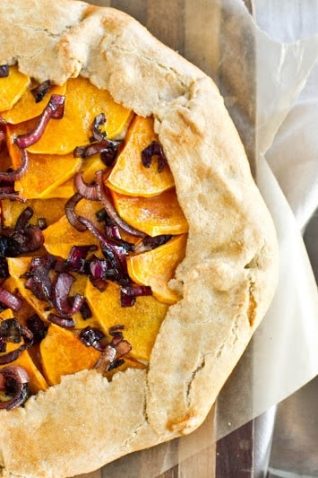 Butternut Squash, Balsamic Onions, & Ricotta Galette Recipes ...