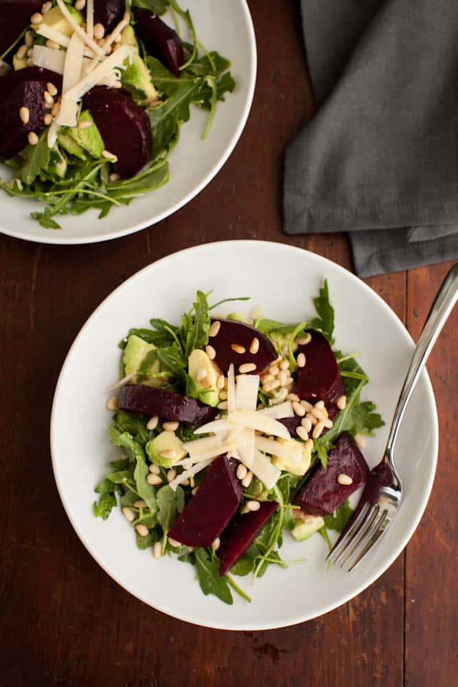 roasted beets with edamame and arugula roasted beets roasted beets and ...