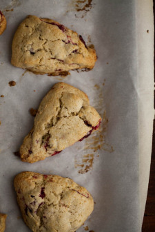 Roasted Cranberry Einkorn Scones-11