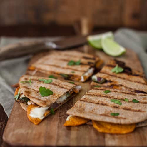 ... sweet potato quesadilla spiced zucchini rice burritos with homemade