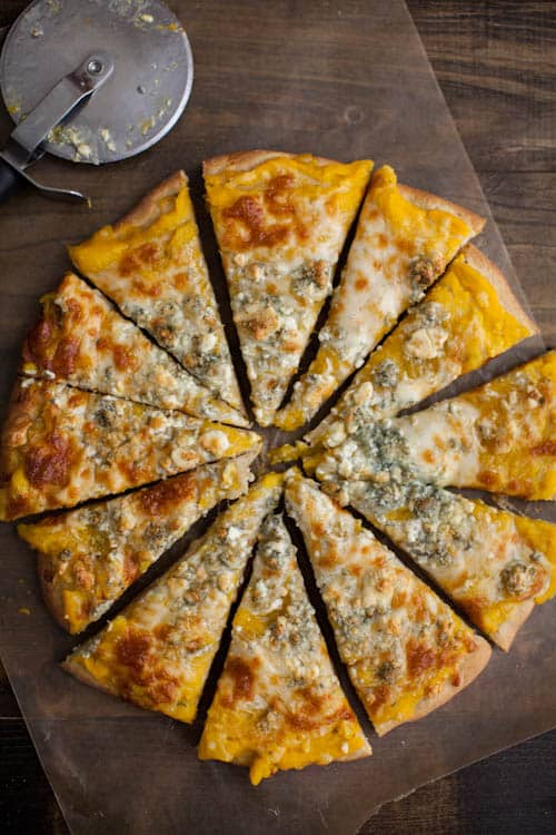 butternut Squash Blue Cheese Pizza-6