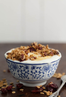 Three-Grain Maple Granola