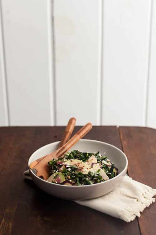 Collard Quinoa Salad