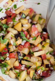 Stone Fruit Salsa