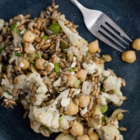 Sprouted Rye and Roasted Cauliflower Bowl (3 of 4)