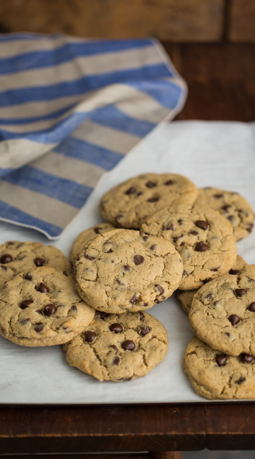 Barley Chocolate Chip Cookies | Naturally Ella