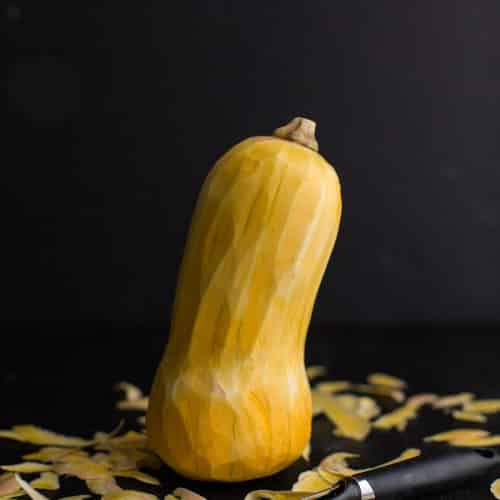 Peeled Butternut Squash | Naturally Ella