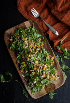 Roasted Butternut Squash, Quinoa, and Arugula Salad | Naturally Ella