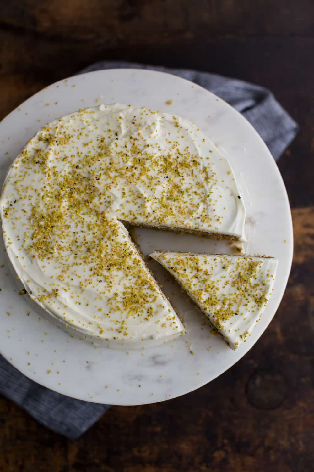 Pistachio And Olive Oil Cake Ask