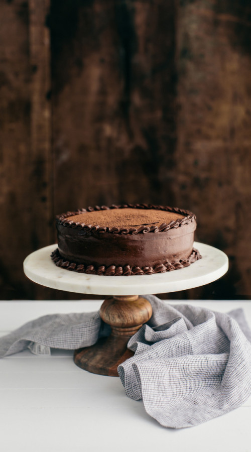 Chocolate Cake | @naturallyella