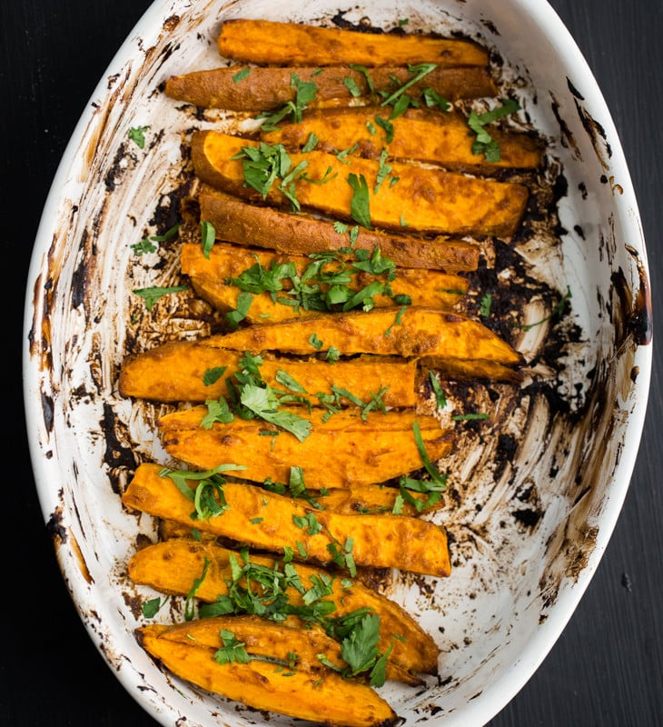 Tandoori Sweet Potatoes | @naturallyella