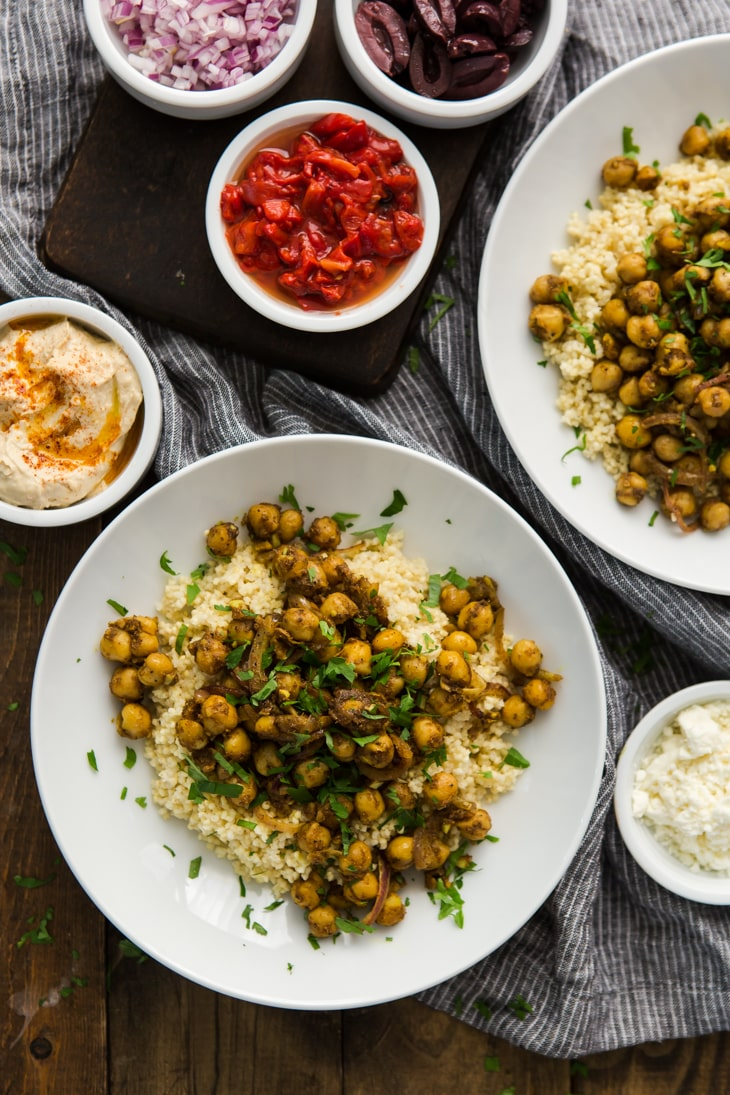 Chickpea Shawarma Recipe | @naturallyella