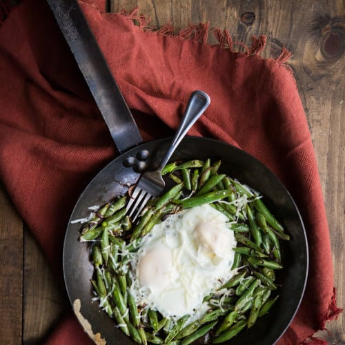 Egg and Green Bean Skillet | @naturallyella