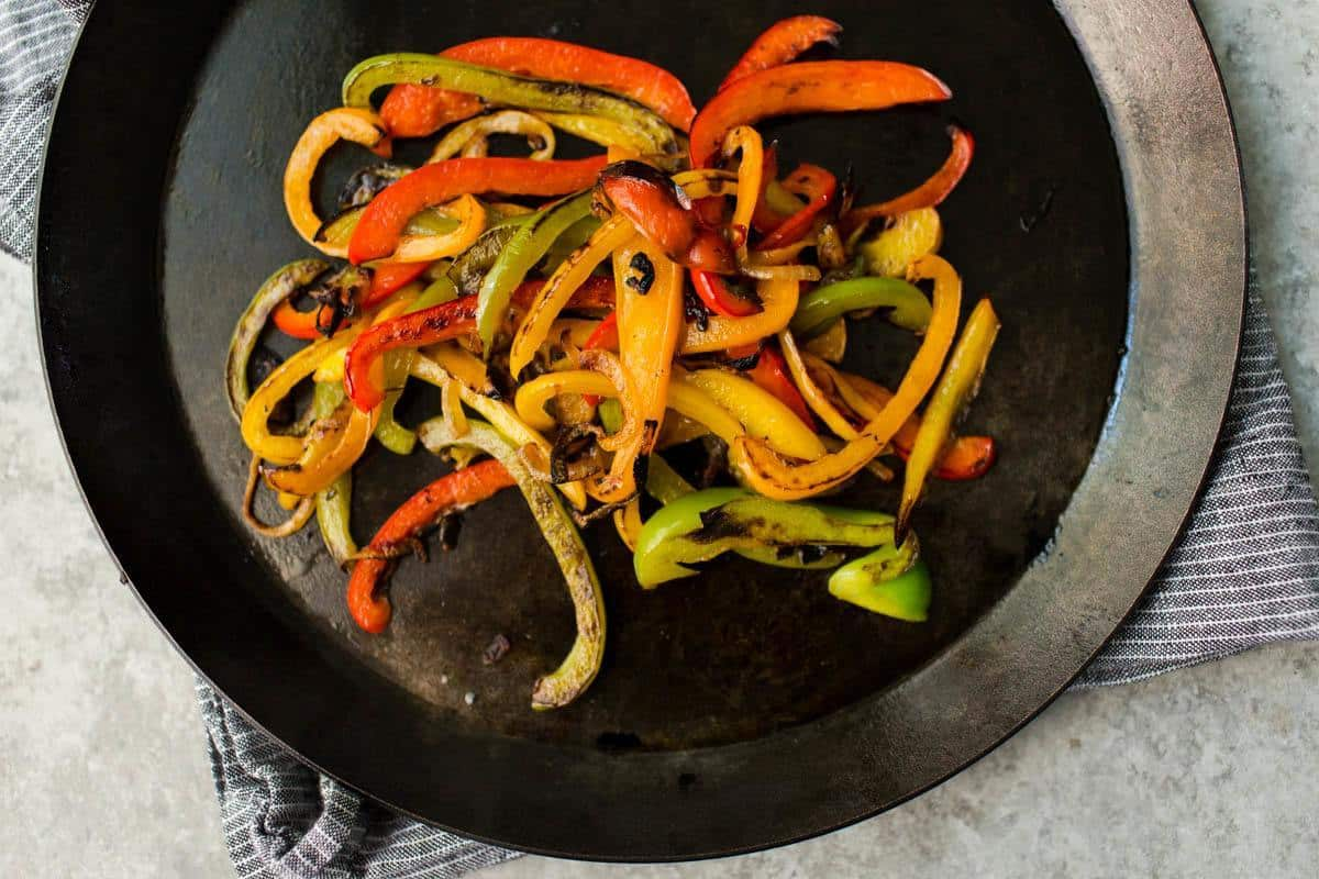 Cooked Bell Peppers | http://naturallyella.com