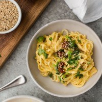 Butternut Squash Noodle Bowl with Spinach