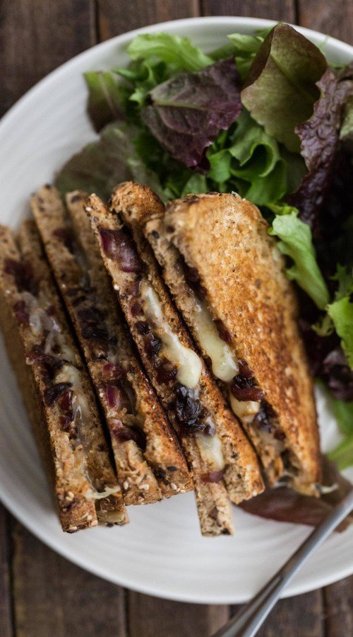 Grilled Cheese with Balsamic Onions