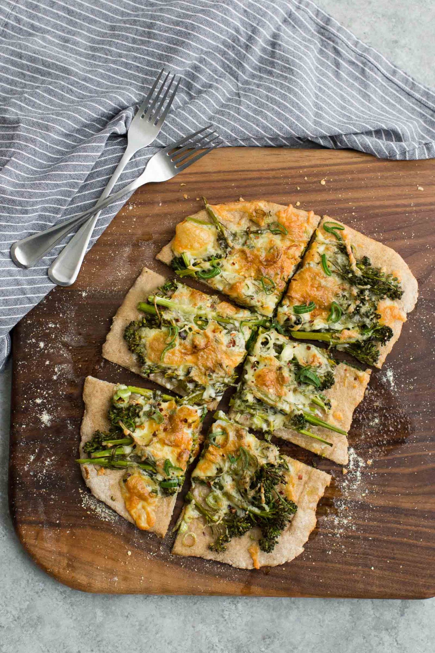 Broccolini Flatbread