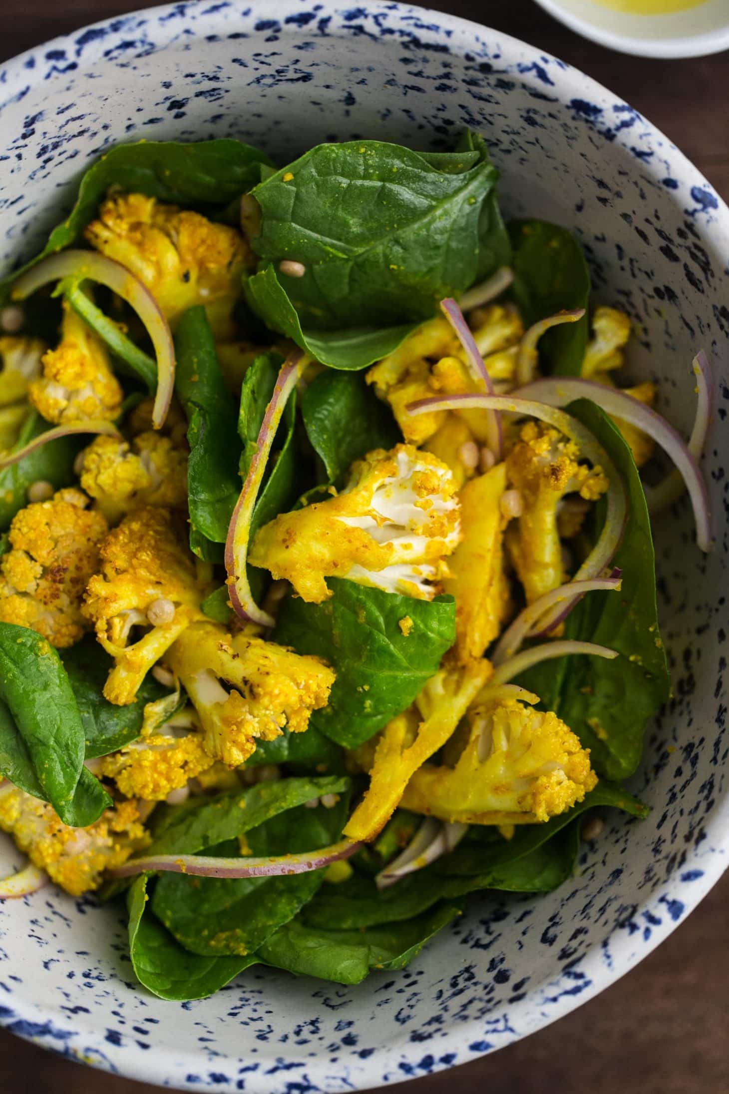 Turmeric Tahini Roasted Cauliflower Salad | Cheap Healthy ...