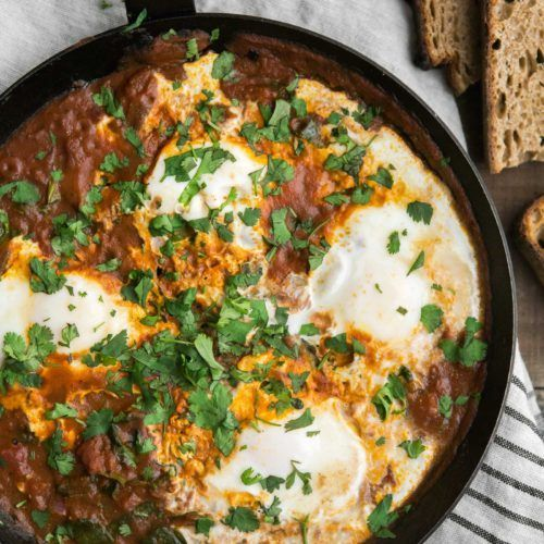 Curried Eggs with Spinach   @naturallyella