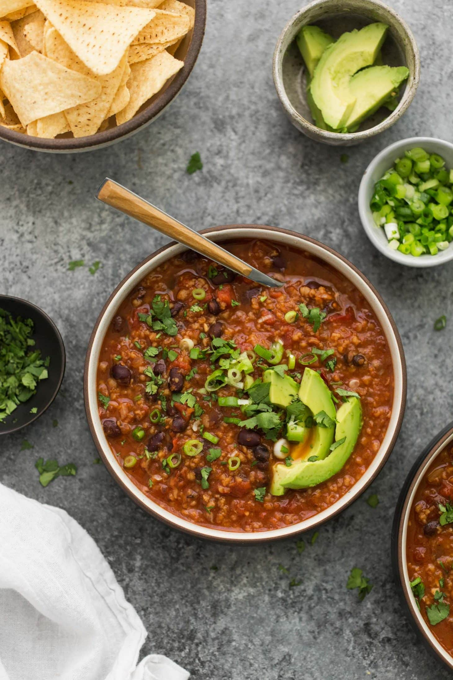 Chipotle Black Bean Chili | @naturallyella