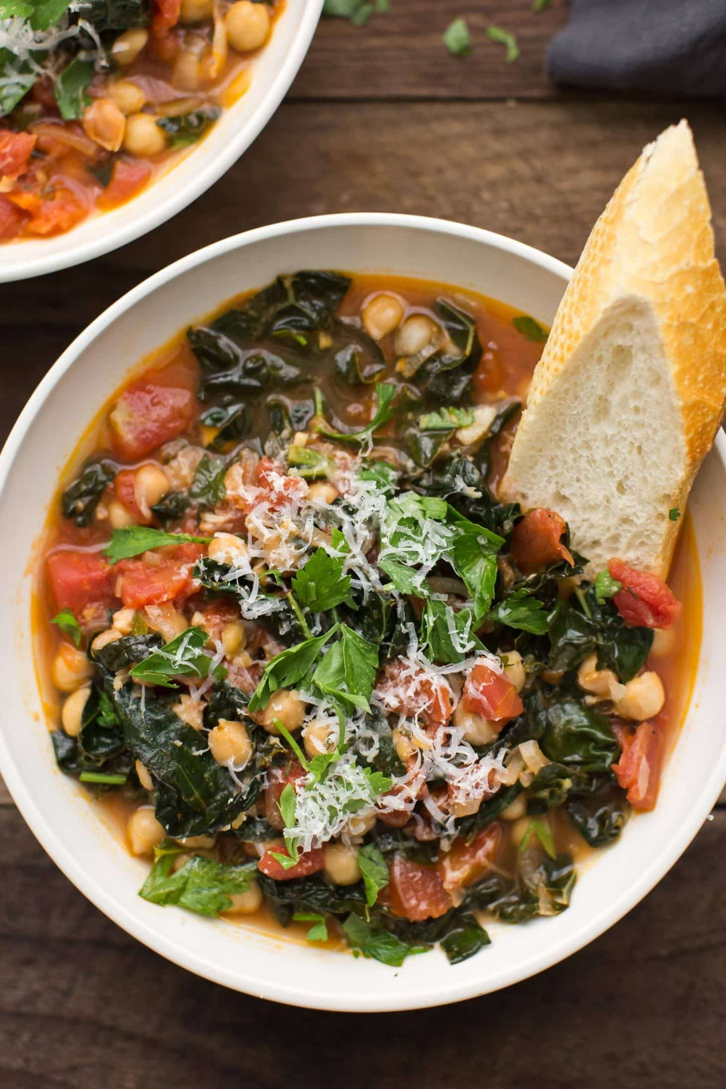 Kale and Chickpea Stew   @naturallyella